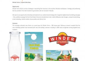 Winder Farms case study