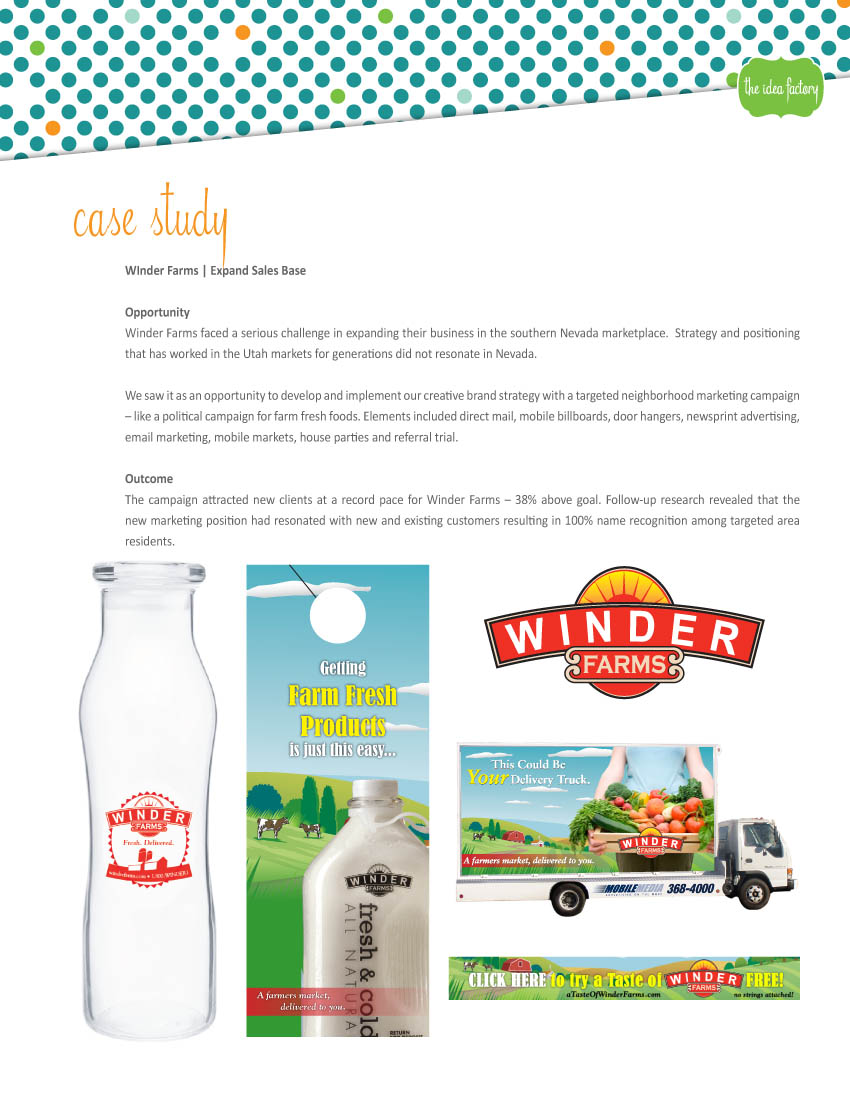 Winder Farms case study