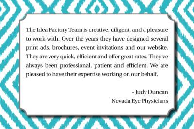 Nevada Eye Physicians - Judy Duncan