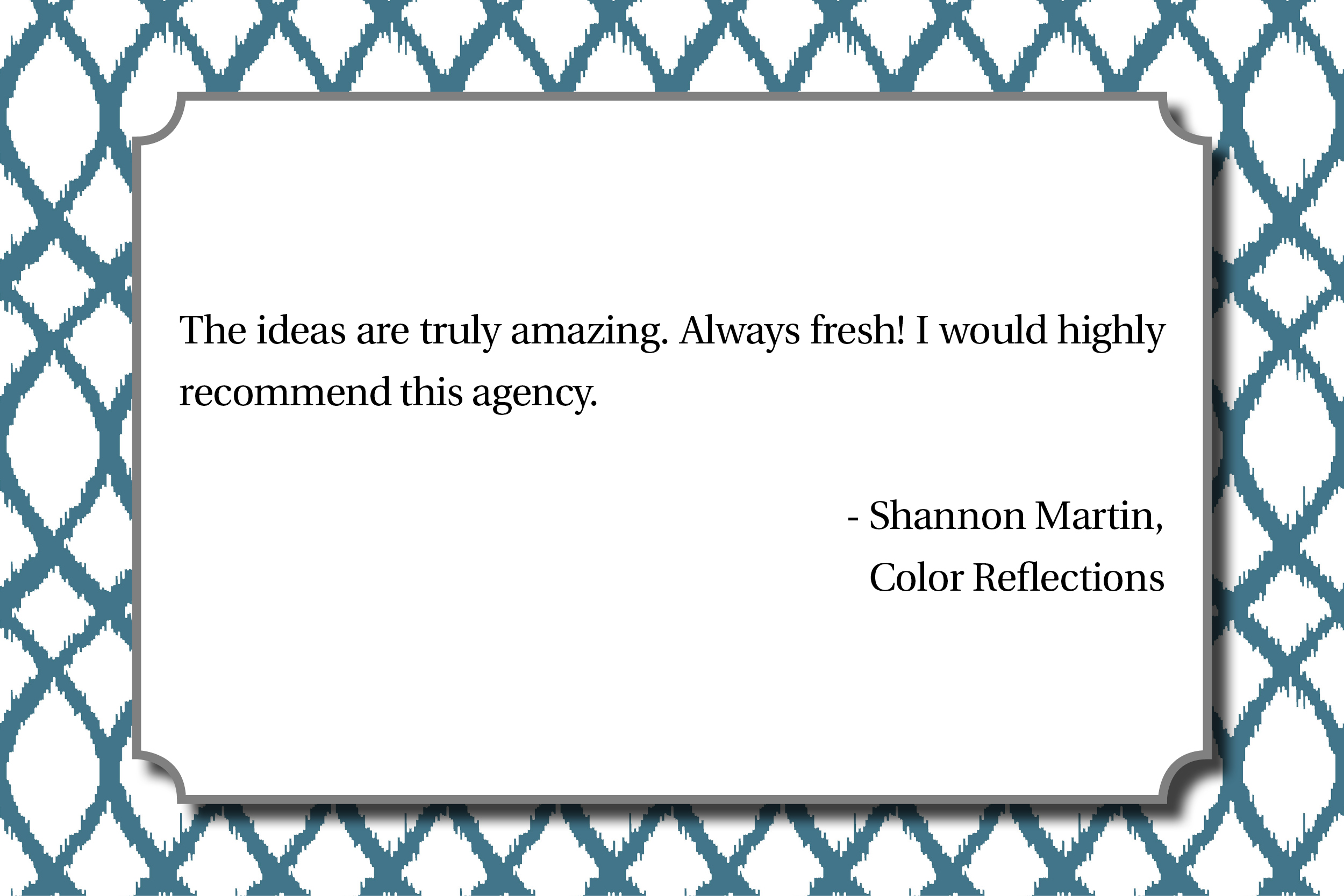 Color Reflections - Shannon Martin
