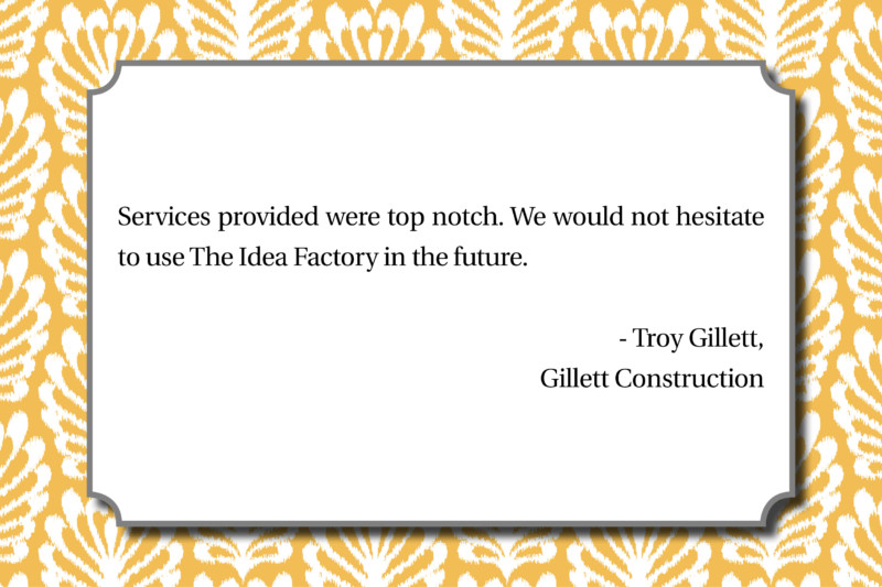 Gillett Construction - Troy Gillett