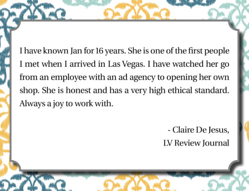 LV Review Journal – Claire De Jesus