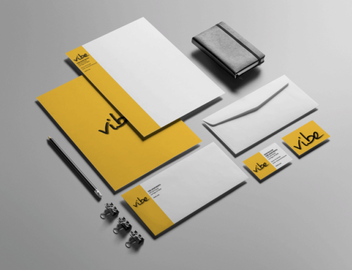 Vibe Stationery Design Package