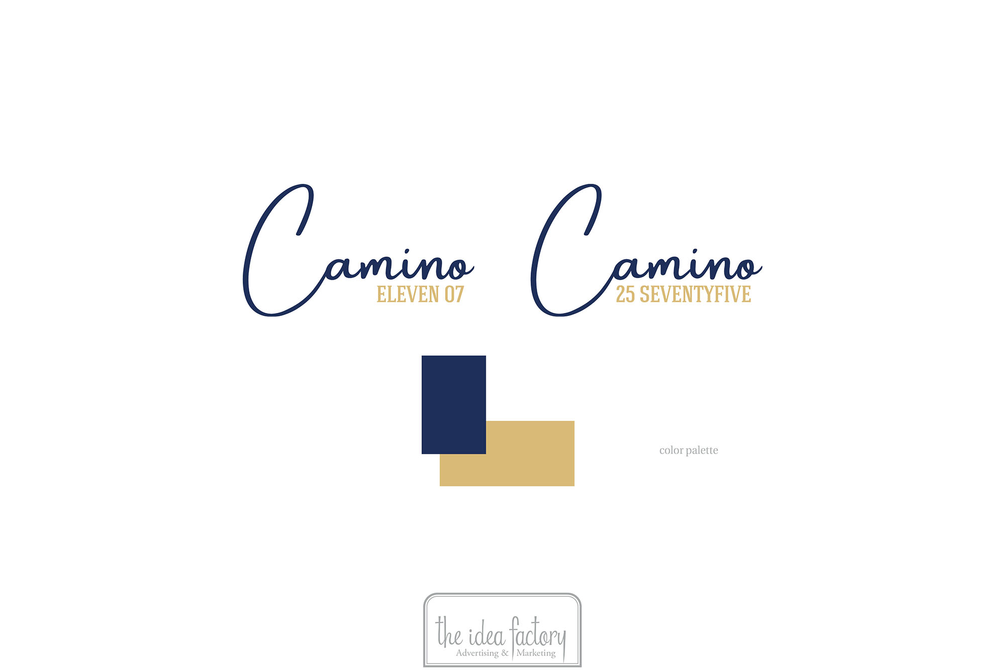 The Camino Brand Logo by THe Idea Factory Las Vegas