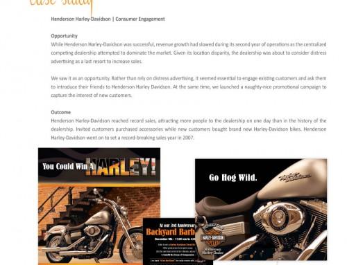 Henderson Harley-Davidson | Consumer Engagement