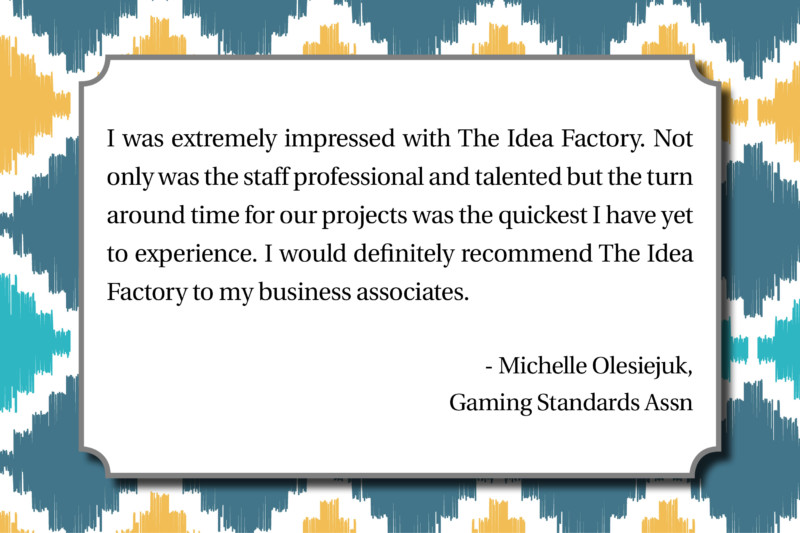 Gaming Standards Assn - Michelle Olesiejuk